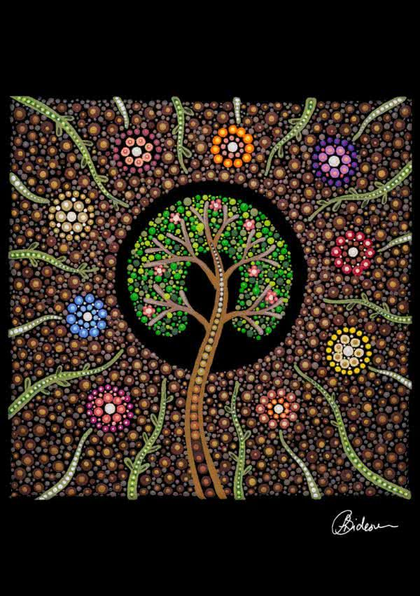 Tree of Life Spring | Copyright | Leah Brideson