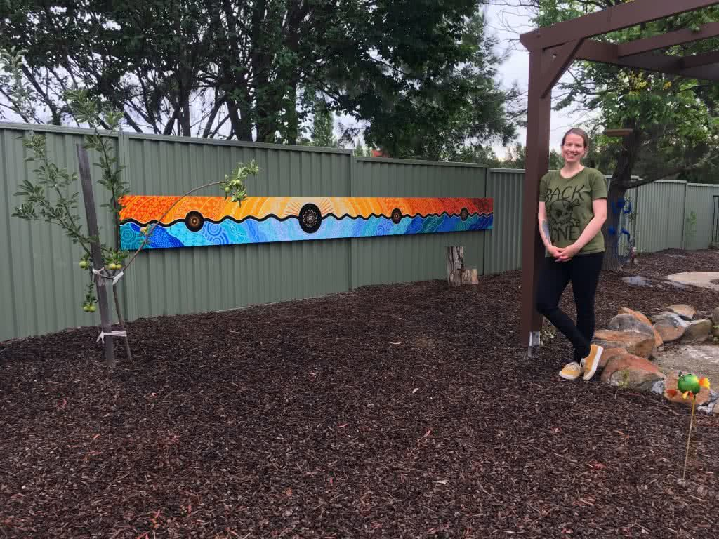 Leah Brideson | Copyright | Community Together Mural Totom House 2017