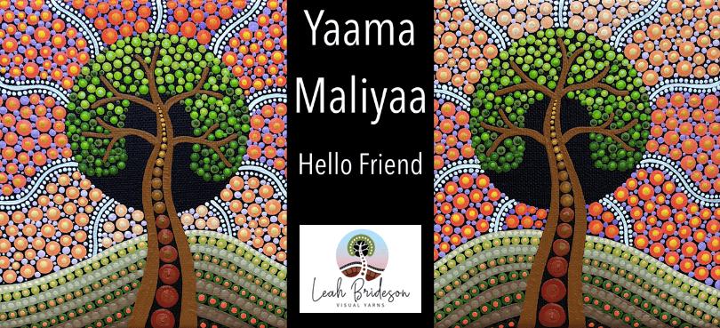 Leah Brideson | Copyright | Yaama Maliyaa